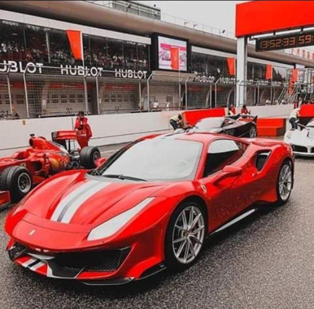 Ferrari 488 piu 50 cv 60nm