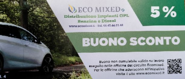 SCONTO CIRCUITO ECO MIXED